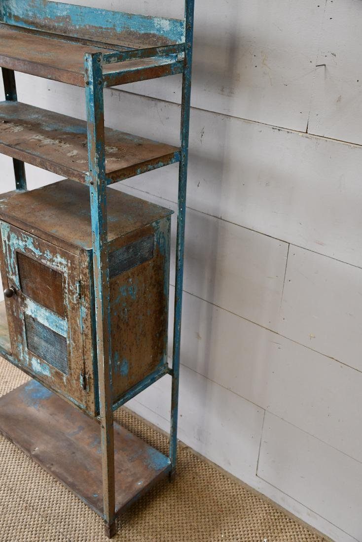 "Painted Metal Kitchen Rack 65""H,   28 1/4""  x   12""W - 3"