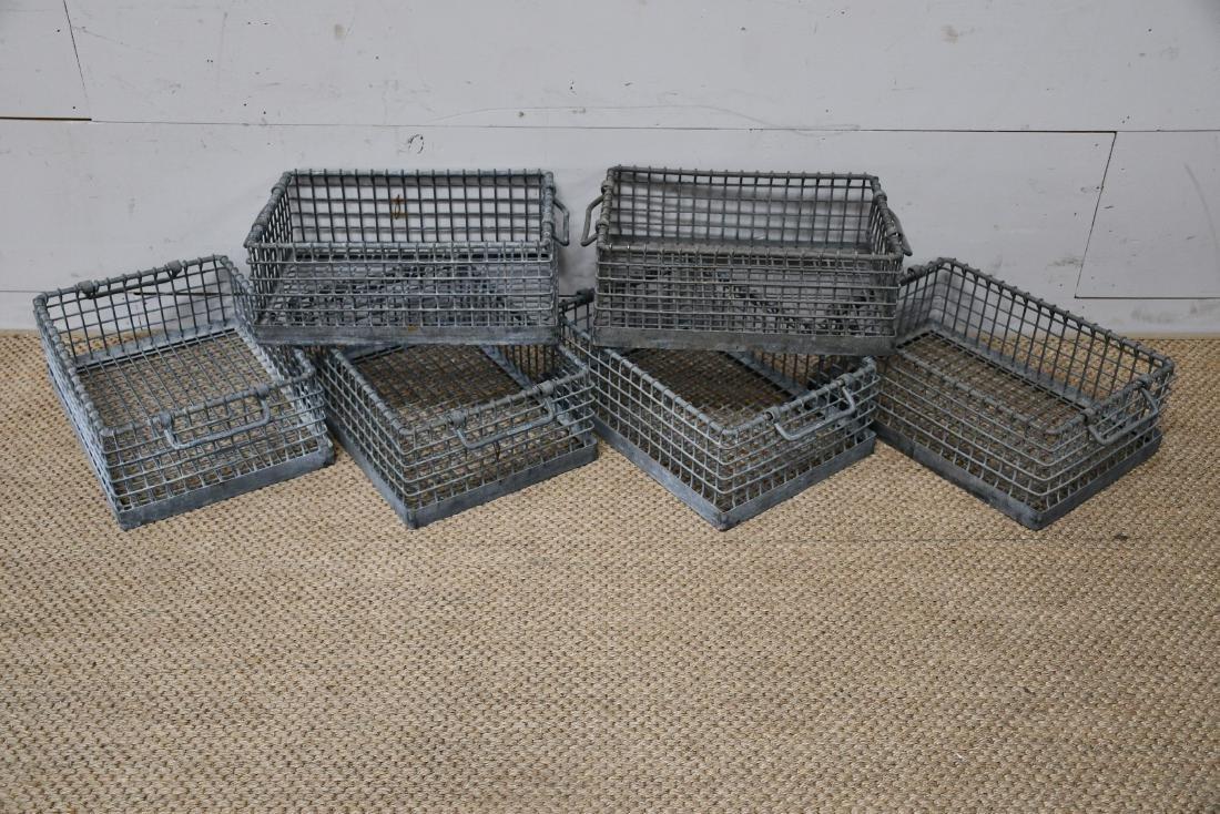 "Industrial Wire Basket X-6 6""H,   16""  x   11""    ea."