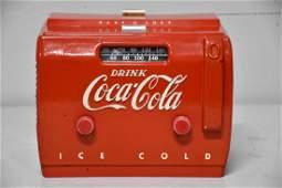 "Coca-Cola Radio *Working Condition 10""H, 12 1/4"""
