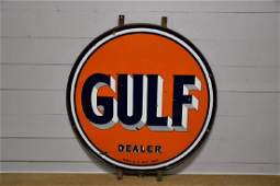 "DSP Gulf Dealer Sign 66"" diam."