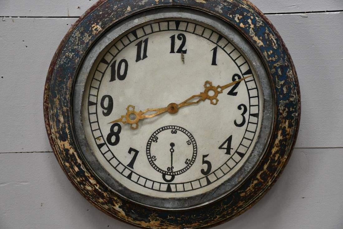 "Pocket Watch Trade Sign 30""H,   21""L,   4 1/2""W - 2"