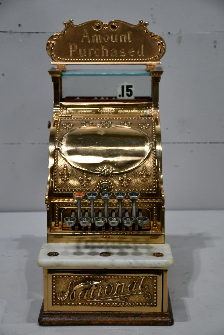 "Candy Store National Cash Register 20 5/8""H,   9 1/2"""