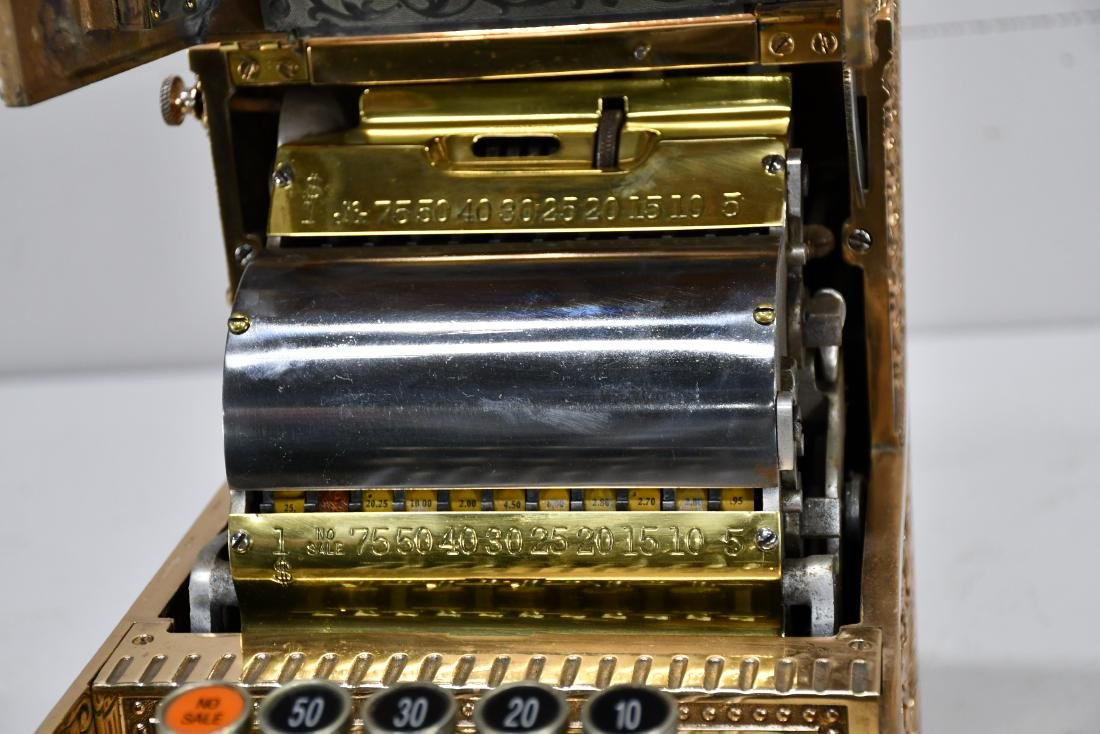 "Candy Store National Cash Register 20 5/8""H,   9 1/2"" - 4"