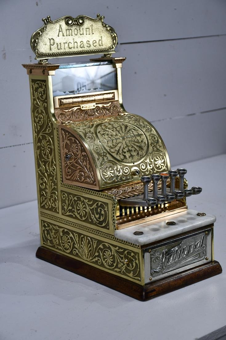 """Candy Store National Cash Register 22 1/4""""H,   9 1/4"""" - 3"""