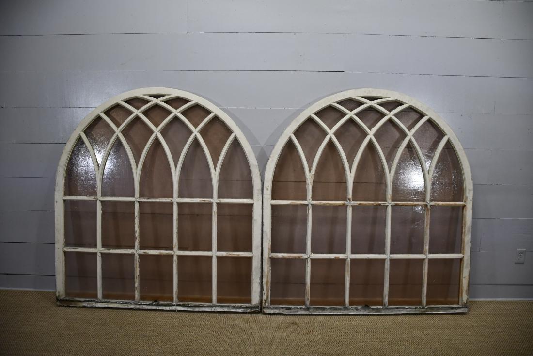 """Arched Gothic Window X-2   69""""  x   65""""      ea."""