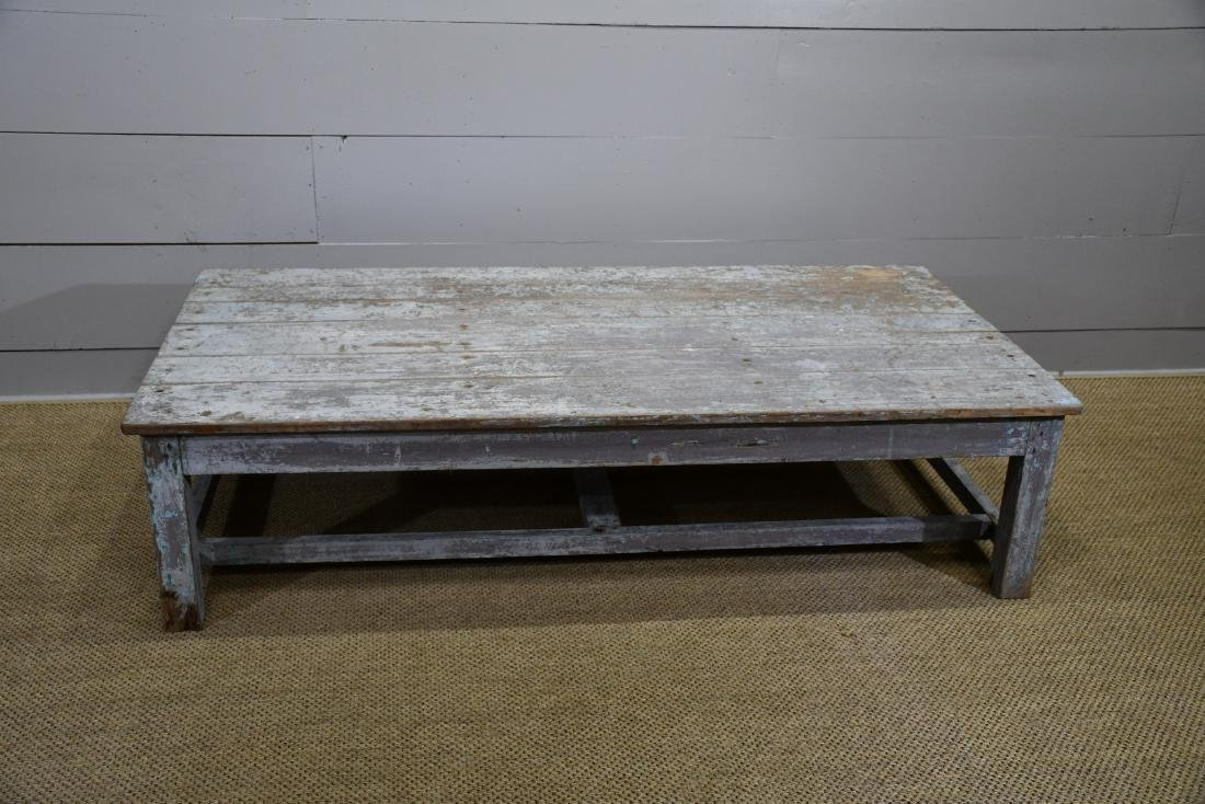 Coffee Table 36 X 24.Painted Coffee Table 18 H 72 X 36