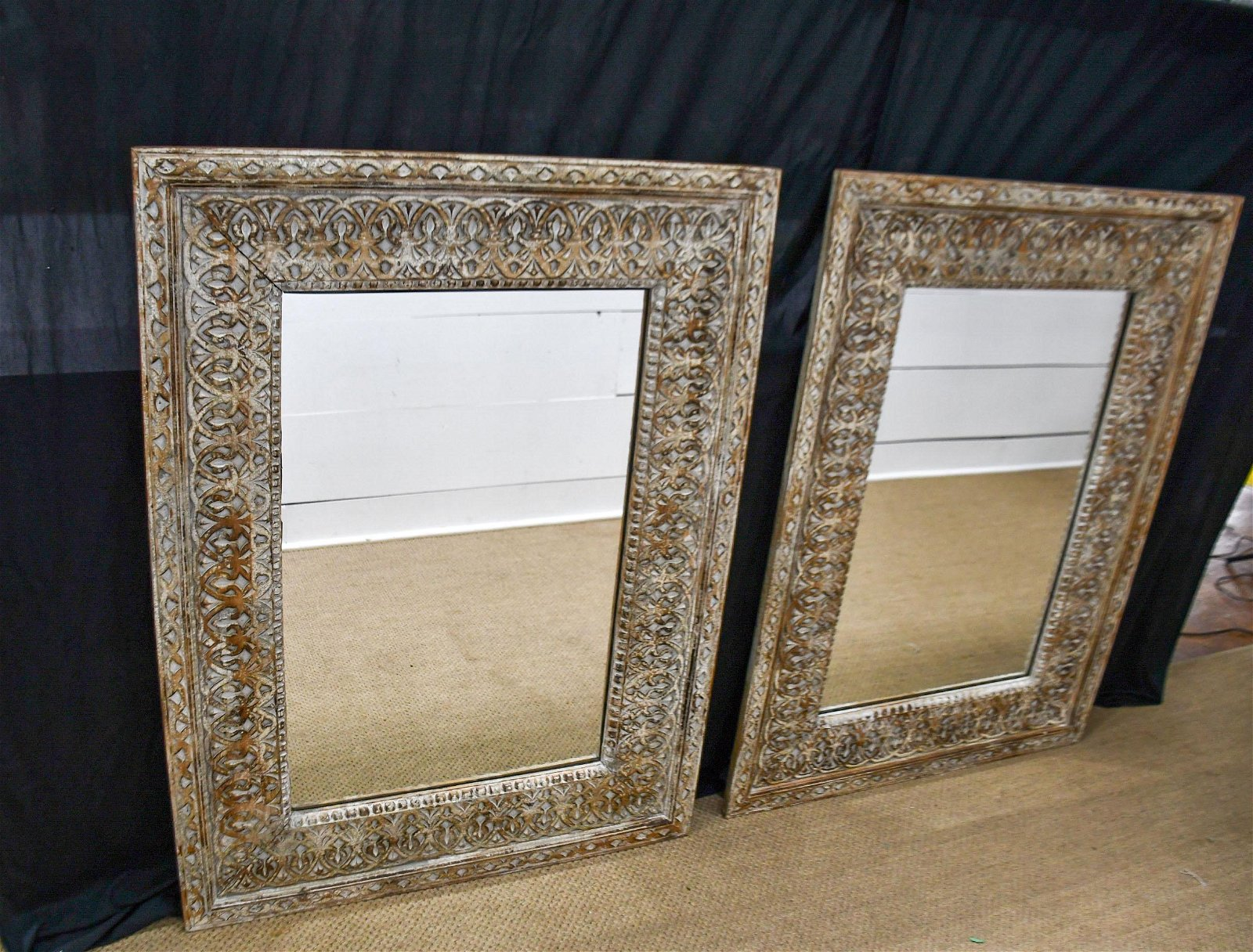 Architectural Carved Mirror X-2
