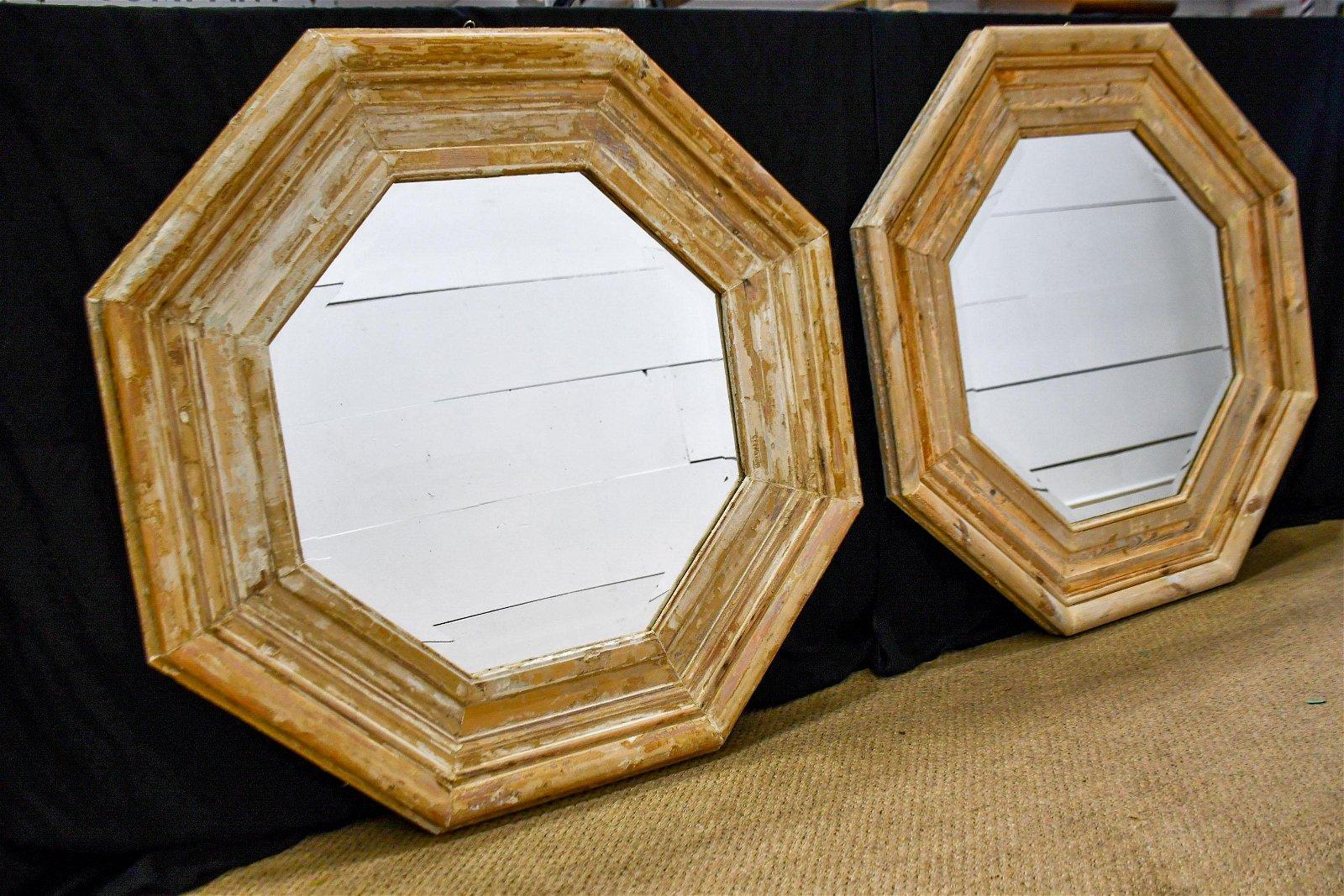 Architectural Octagon Mirror X-2