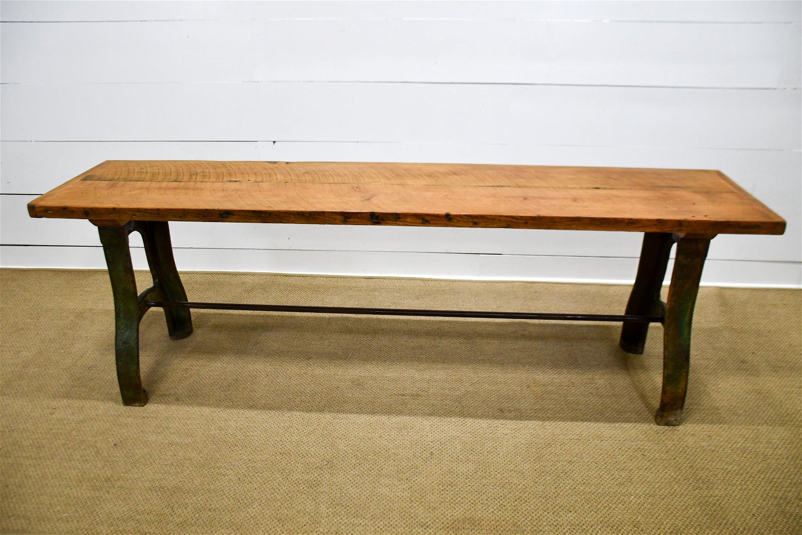 "Industrial Work Table 31 1/2""H,   97""  x   23"""