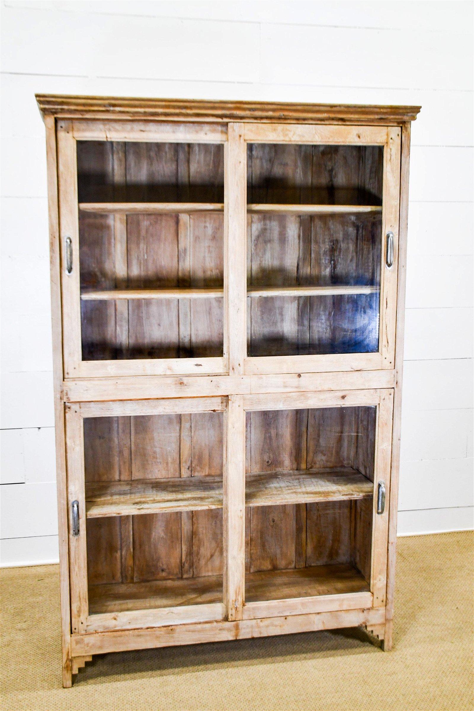 "Store Display Cabinet w/ Sliding Doors 84""H,   53 1/2"""