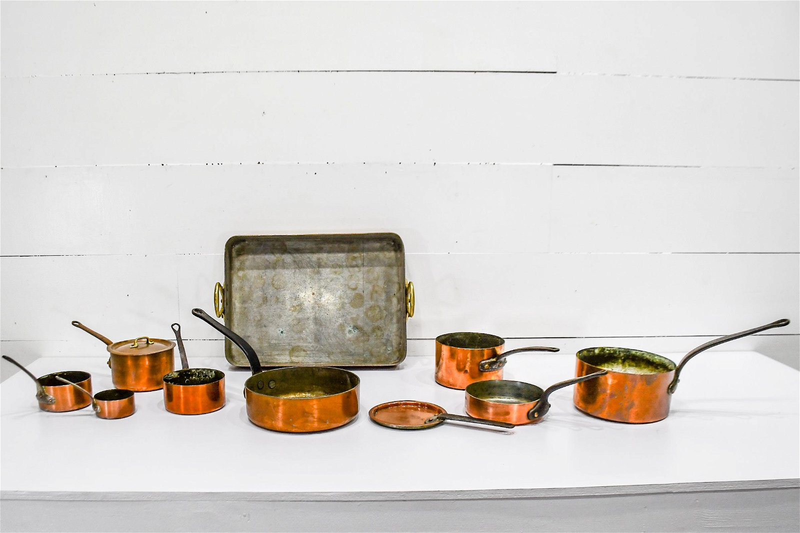 10pc. Lot of Copper Cookware