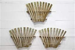 "3pc. Lot of Windmill Fan Blades 27""  x   37"""