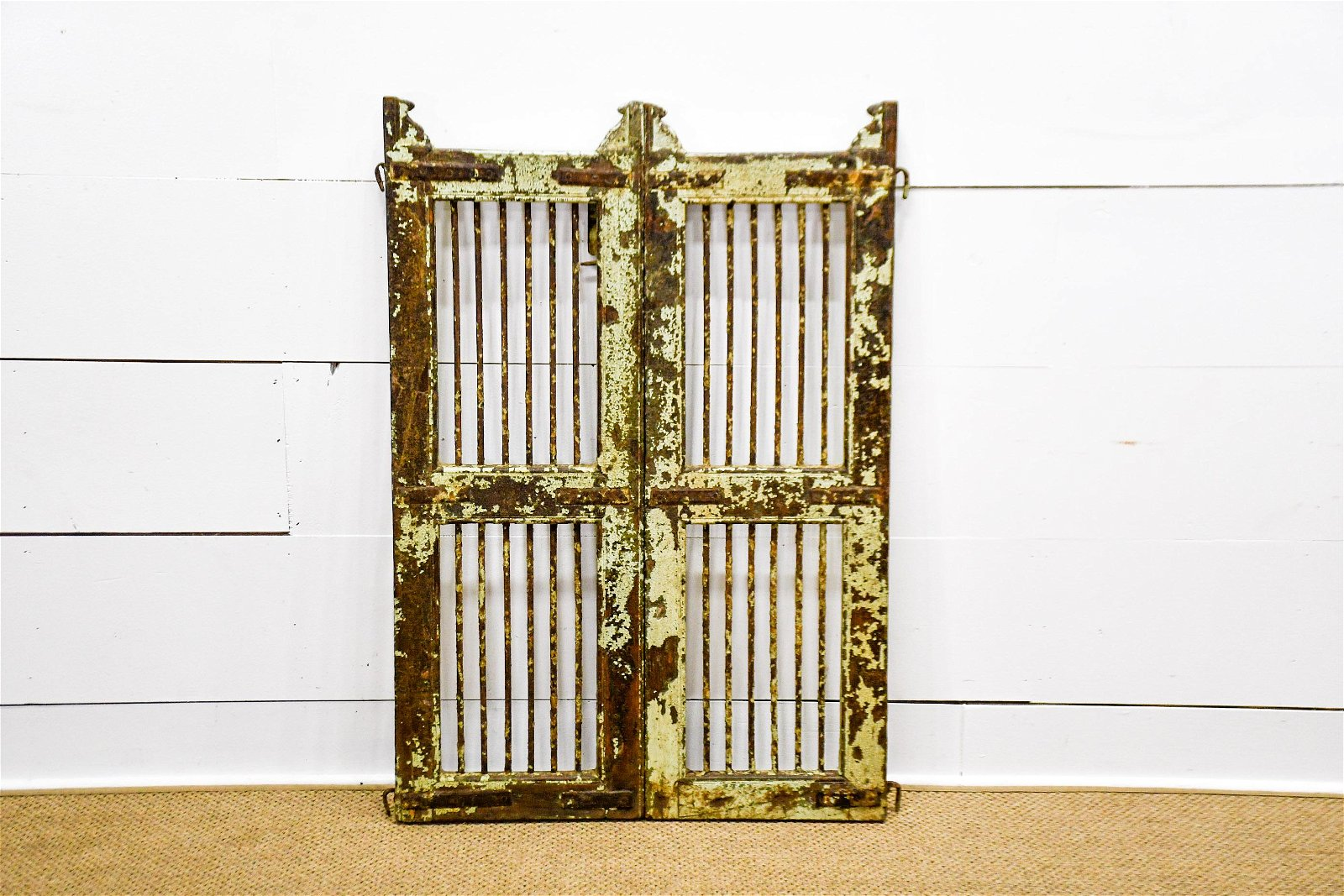 """Pair of Painted Gates 45 1/2""""  x   31""""   total"""