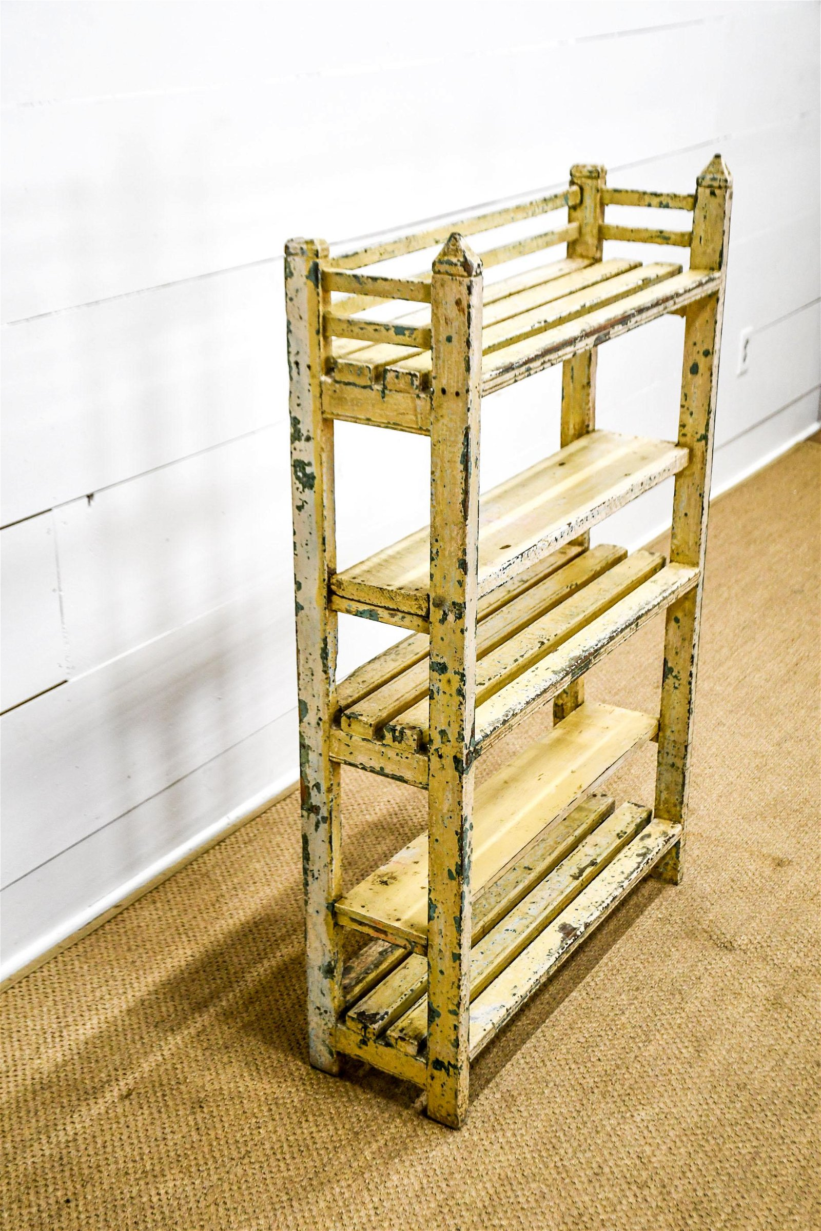 """Painted Store Display Shelf 48 1/2""""H,   30 1/2""""  x"""