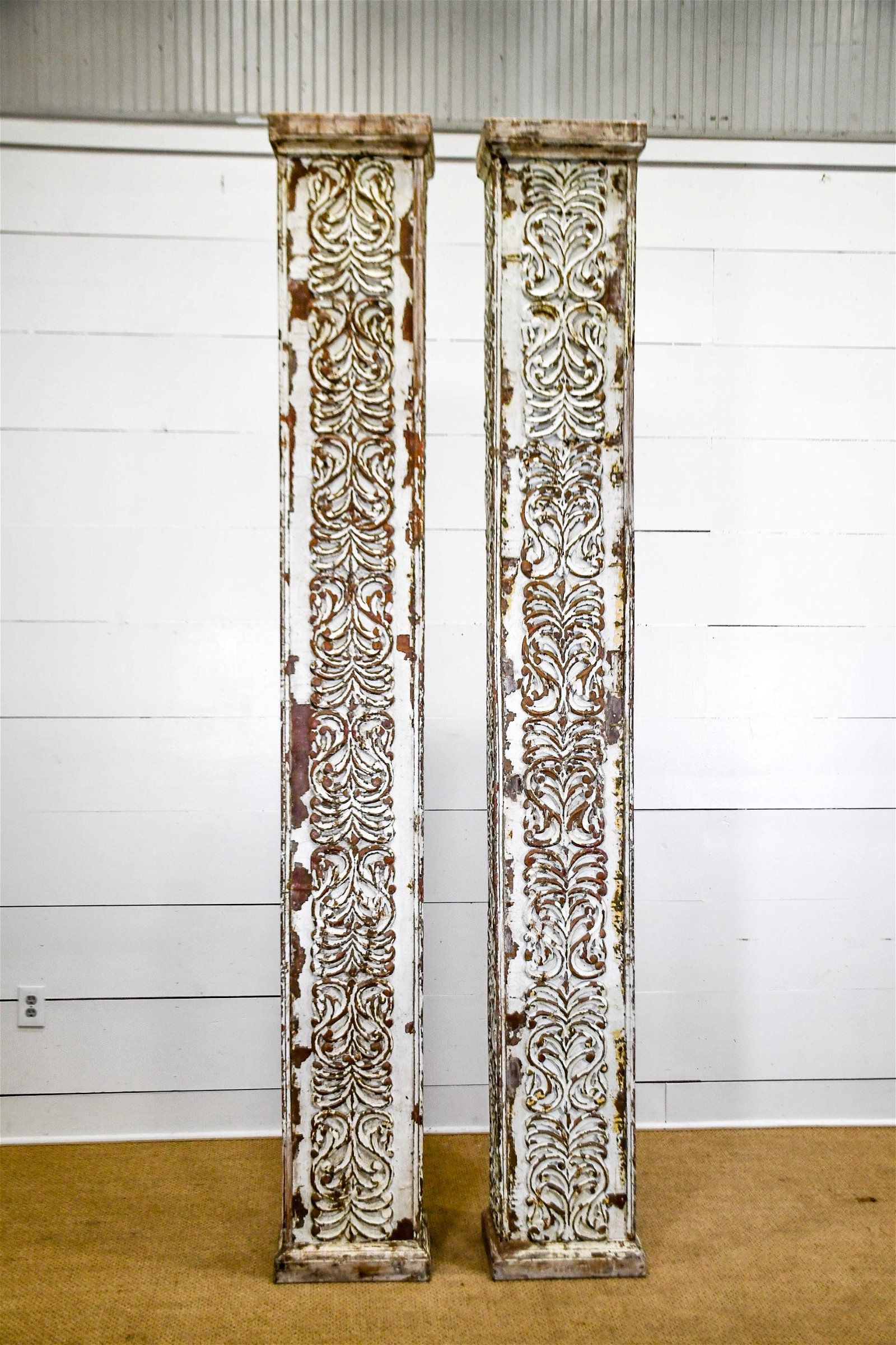 Architectural Painted Column X-2