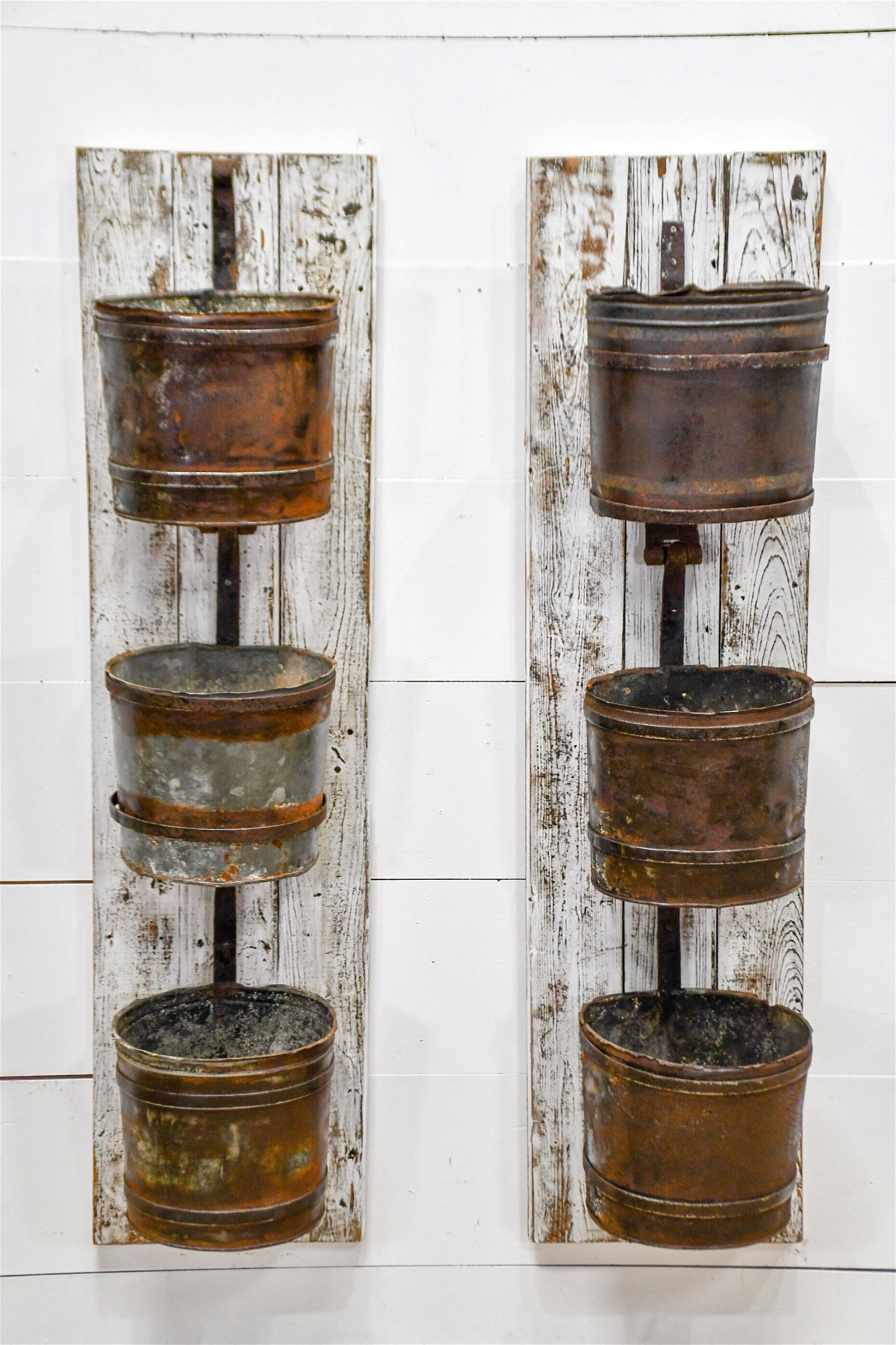 Mounted French Well Buckets X-2