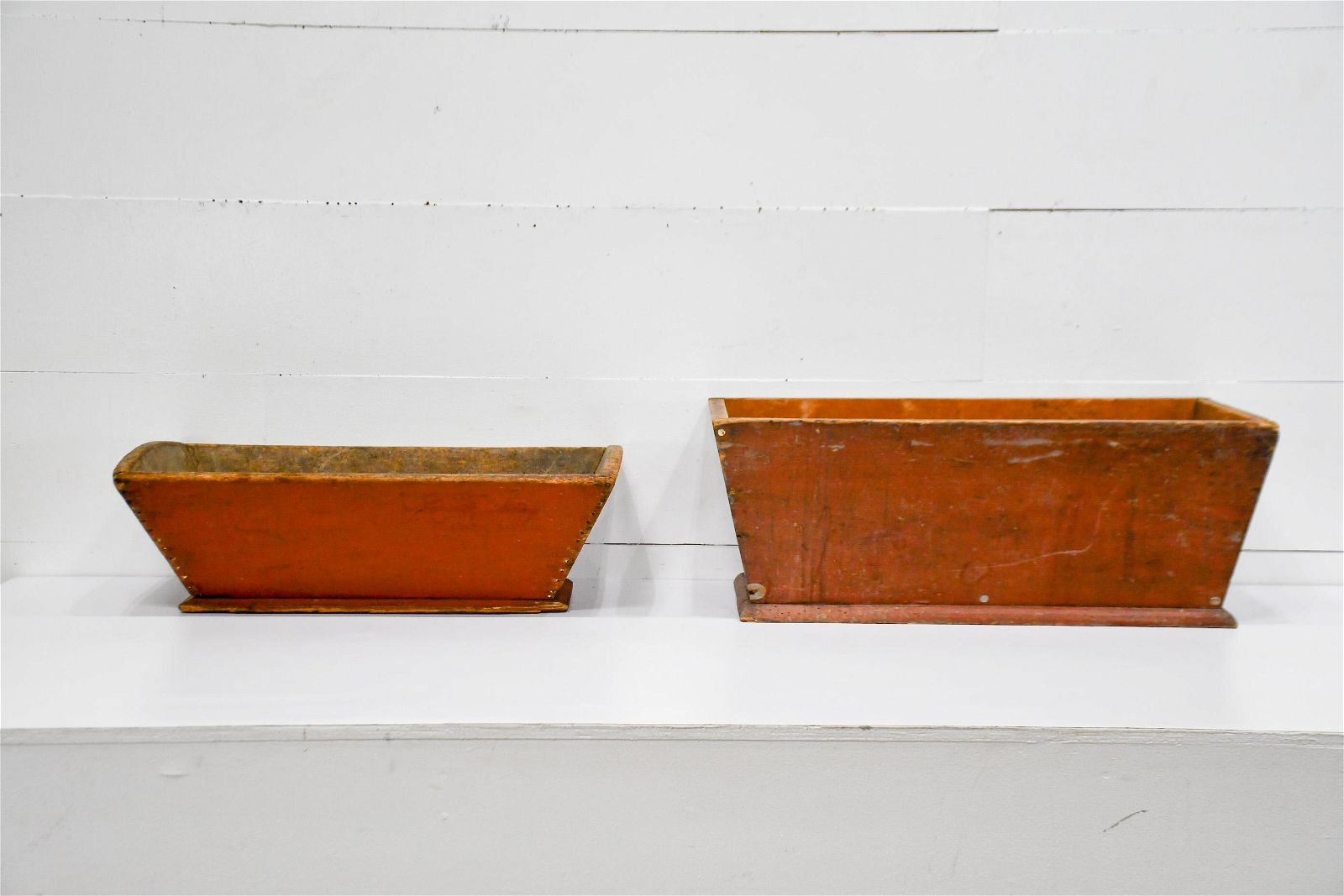 """2pc. Lot of Work Bowls 12 1/2""""H, 33"""" x 17"""""""