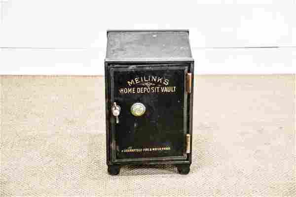 "Meilinks Home Deposit Vault Safe w/ Combo 20""H, 13"