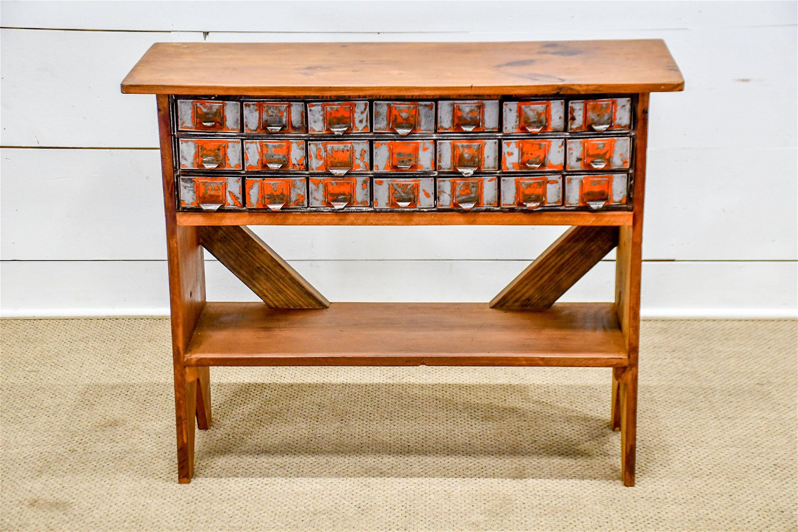 """Industrial Work Stand w/ Drawers 32 1/2""""H,   40 1/2""""  x"""