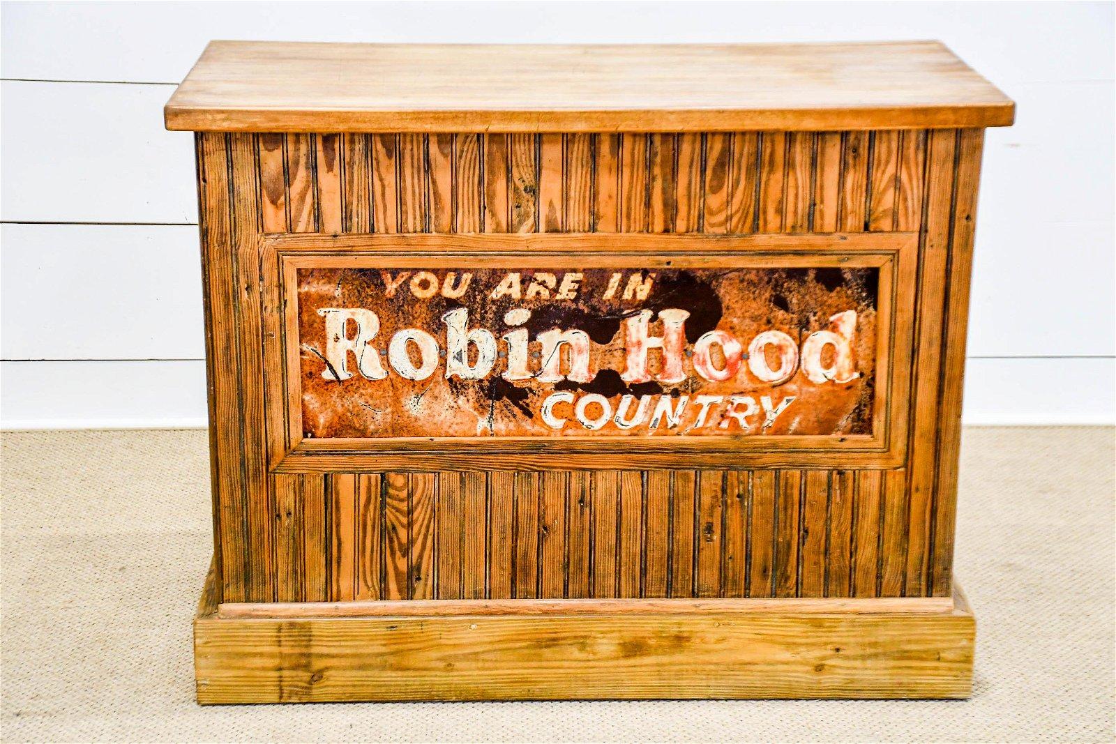 General Store Counter Advertising Robin Hood Flour