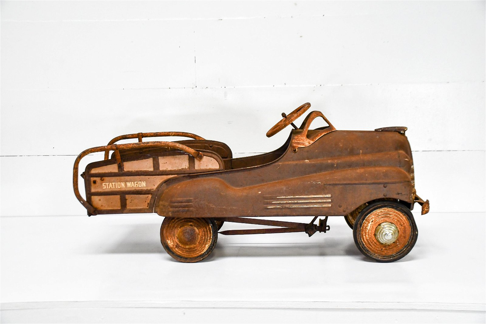 """Child's Station Wagon Pedal Car 20 1/2""""H,   46""""  x   15"""