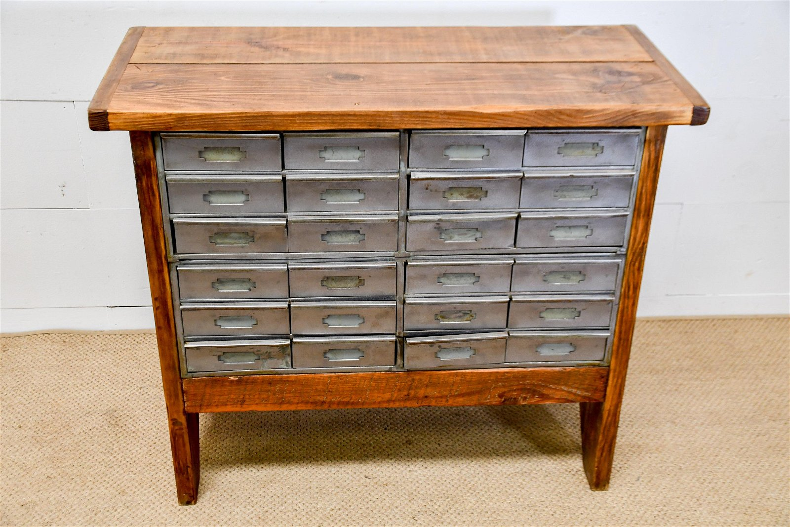 """Industrial Work Stand w/ Metal Drawers 35 1/2""""H,   42"""""""