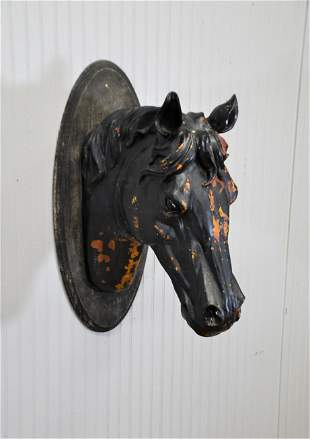 """Horse Head Trade Sign 30""""H,   13""""(side-side)  x"""
