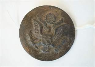 Pre-WW1 US Army Officer's Garrison Belt Buckle bronze