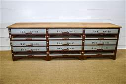 """Industrial Warehouse Work Counter w/ Drawers 36""""H,"""