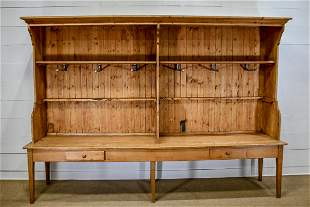 """Hardware Store 2pc. Pine Cabinet 96""""H,   136 1/2""""  x"""