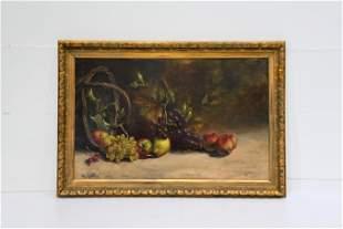 O/C Basket With Fruit artist - Henri Matthys