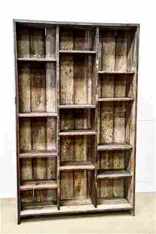 """General Store Display Cubby 84""""H, 52"""" x 13"""""""