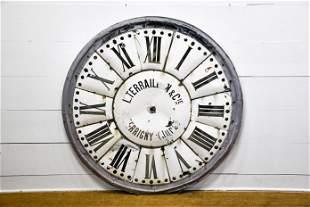 "French Clock Face 59"" diam."