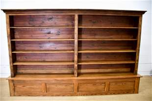 Texas Pine General Store 2pc. Display Shelf From Enloe,