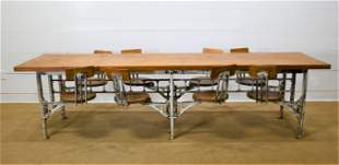 Industrial Schoolhouse Lab Table - The Best w/ swing