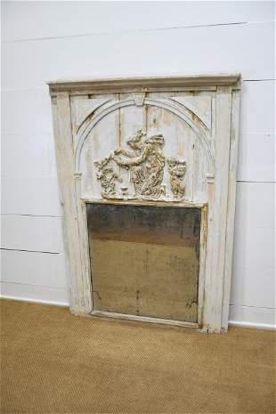 """19th C. Trumeau Mirror 64"""" x 44 1/2"""""""
