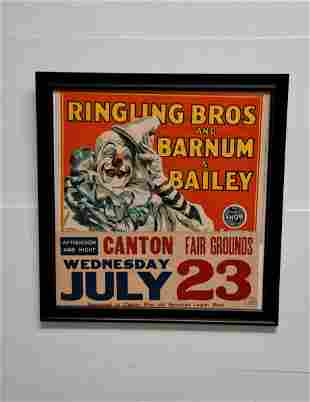 """Ringling Bros and Barnum & Bailey Circus Poster 34"""" x"""