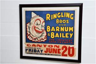 """Ringling Bros and Barnum & Bailey Circus Poster 44"""" x"""