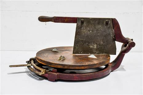 """General Store Cheese Cutter 13""""H, 26"""" x 17"""""""