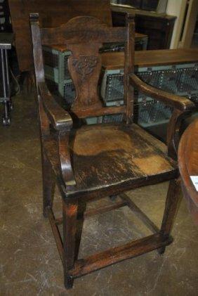 4: Billiard Chair from Fort Worth Club X2