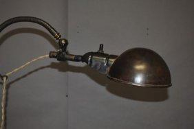 11: Industrial Floor Lamp