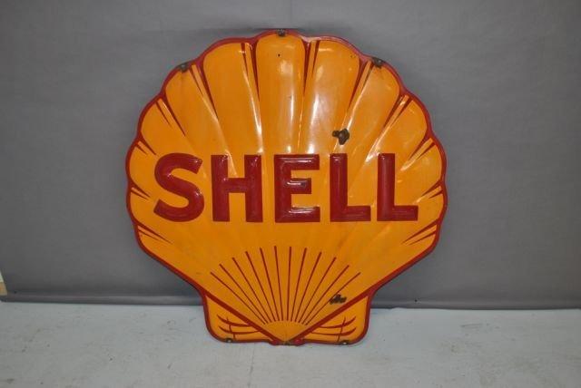 43: Shell Sign- Porcelain - 2