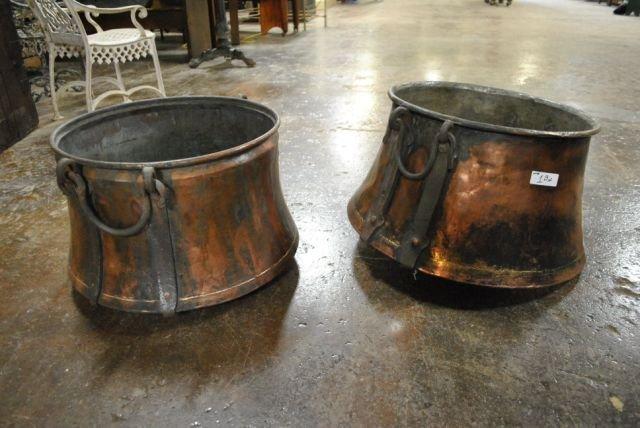 Copper Pot X2