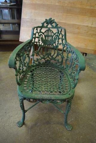 Cast Iron Garden Chair X4