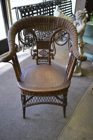 Heywood Wakefield Wicker Chair