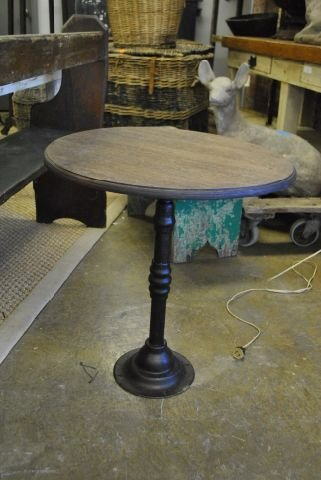 Iron Base Occasional Table