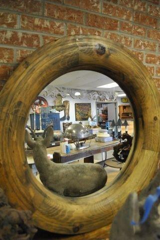 Industrial Cog Mirror