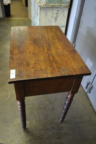 Early 1 Drawer Table - 3