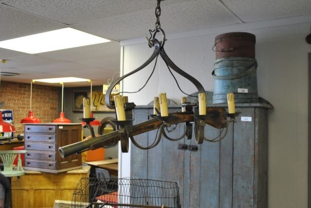 Chandelier From Old French Musket