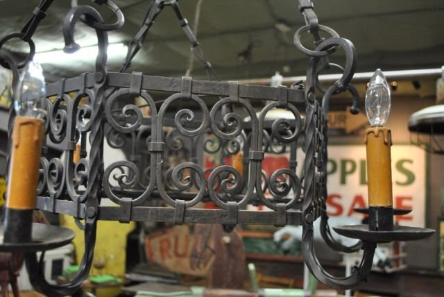 Iron French Chandelier - 2